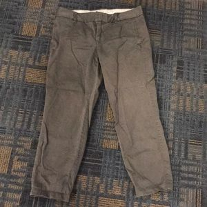 J. Crew Gray Chino Pants Size 6